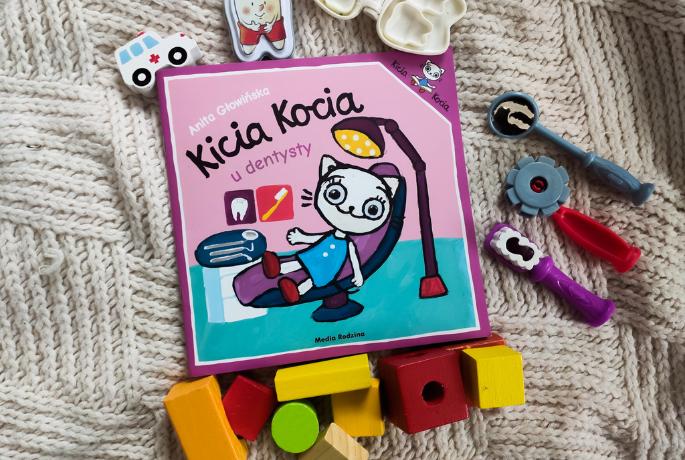 Kicia Kocia u dentysty – Anita Głowińska