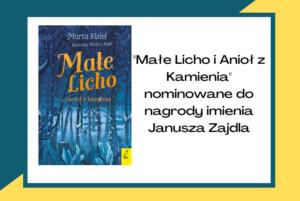 """""""Małe Licho i Anioł z Kamienia"""" nominowane do Nagrody Polskiego Fandomu imienia Janusza Zajdla!"""