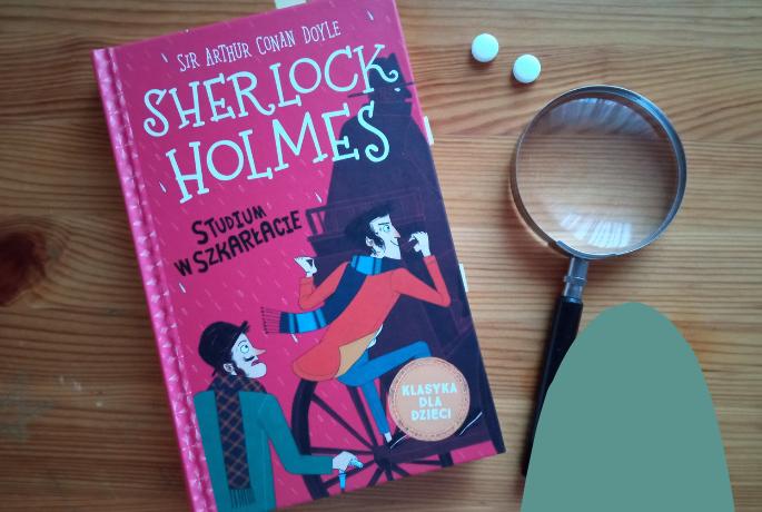 Sherlock Holmes. Studium w Szkarłacie – Arthur Conan Doyle