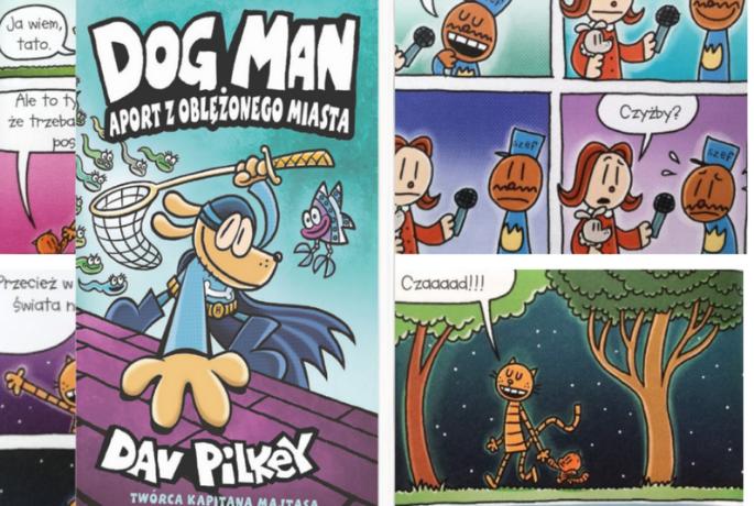 Dog Man. Aport z oblężonego miasta – Dav Pilkey