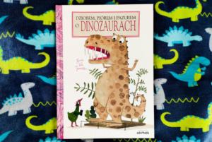 Dziobem, piórem i pazurem o dinozaurach – Guido Van Genechten