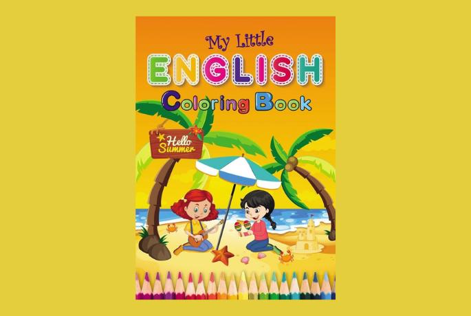 "Nowy magazyn dla dzieci ""My Little Englisk Coloring Book"""