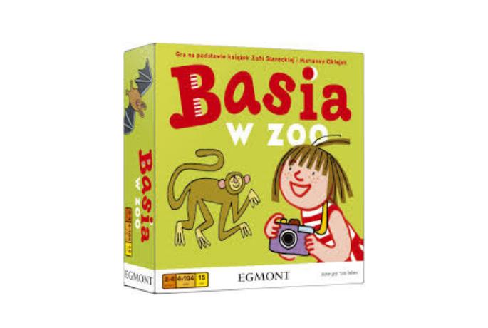Basia w zoo – nowa planszowa gra dla najmłodszych!