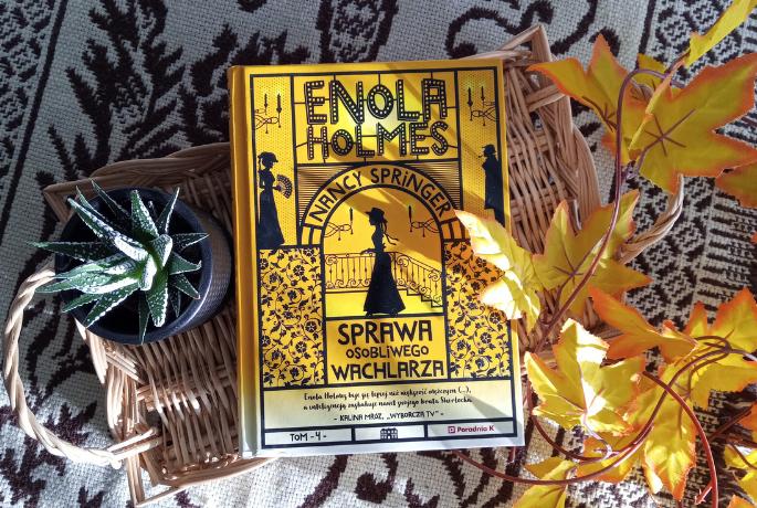 Enola Holmes. Sprawa osobliwego wachlarza – Nancy Springer