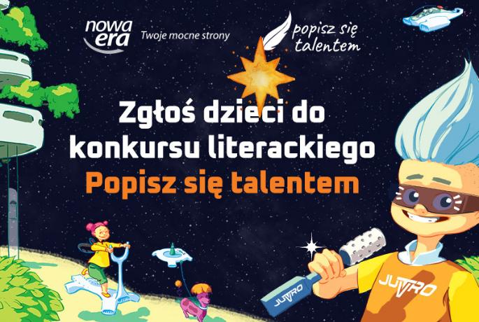 """Trwa konkurs literacki """"Popisz się talentem"""""""