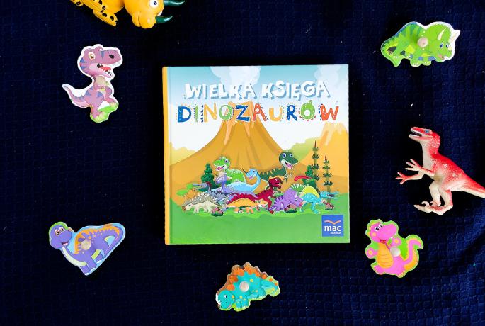 Wielka Księga Dinozaurów – Magdalena Marczewska