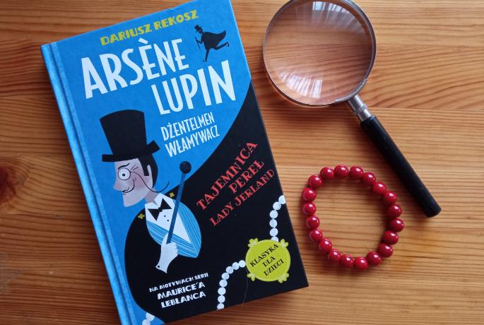 Tajemnica pereł Lady Jerland. Arsene Lupin – Dariusz Rekosz