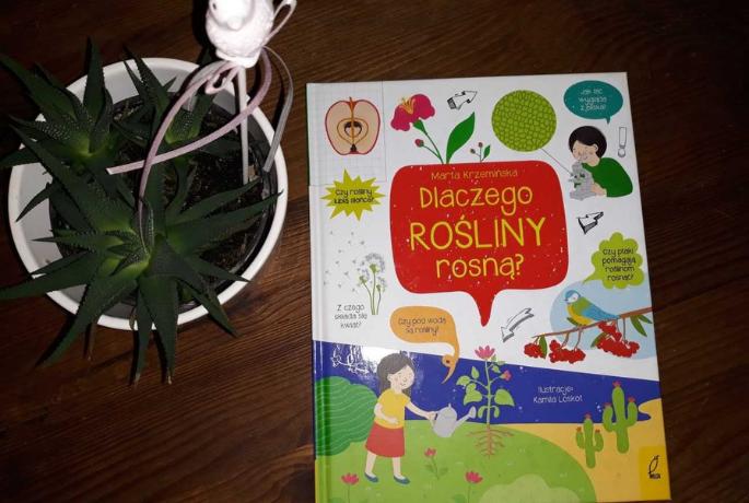 Dlaczego rośliny rosną – Marta Krzemińska