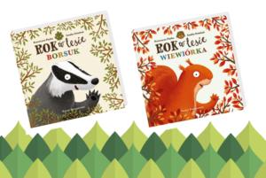 """Kontynuacja """"Roku w Lesie"""". Poznajcie borsuka i wiewiórkę!"""