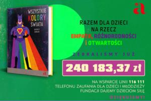 """Sukces akcji charytatywnej """"Wszystkie kolory świata"""""""
