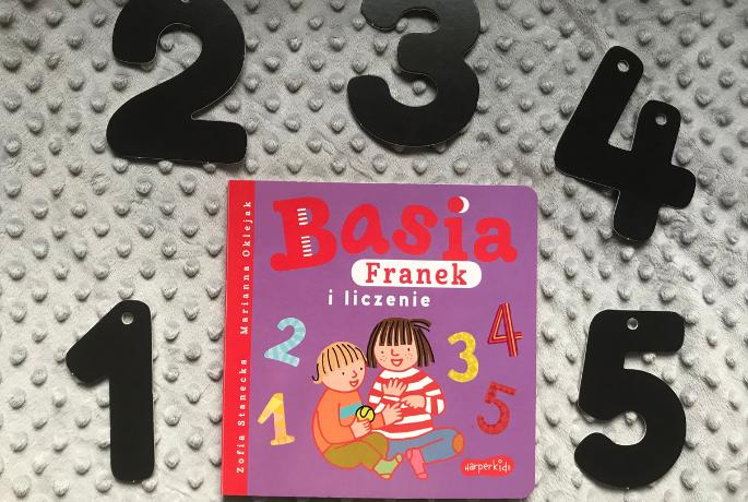 Basia, Franek i liczenie – Marianna Oklejak
